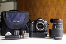 Canon 5D Camera Classic Mark 1 + Lens + Battery Grip + Low Pro Bag & Extras