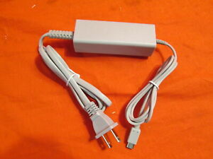 Charging AC Adapter And Cable For Nintendo Wii U Gamepad US Plug Brand New 1196