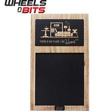 Trendy Lavagna Lavagna pannello in legno con stampa Memo Board PUB CUCINA BAR