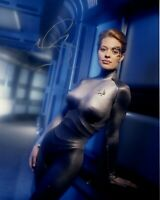 JERI RYAN signed Autogramm 20x25cm STAR TREK in Person autograph COA SEVEN OF