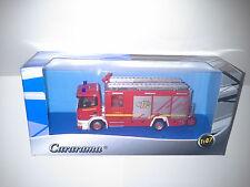 SCANIA 144L 530 FIRE TRUCK 1:87 CARARAMA. NEW IN BOX.