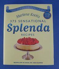 375 Sensational Splenda Recipes Cookbook Marlene Koch