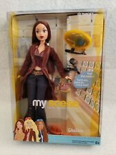 My Scene Chelsea Barbie Doll Modern Clothes Jeans Halter Top Long Brown Coat