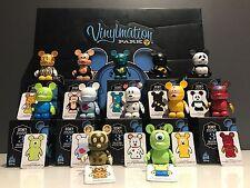 Disney Vinylmation Park Series 2 Complete Set - Chaser, Foils, Boxes, Case