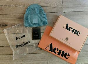 Acne studios Face-patch beanie Mint green