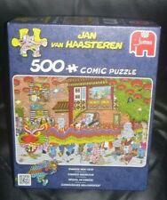 500 PIECE JIGSAW PUZZLE, CHINESE NEW YEAR,JAN  VAN HAASTEREN,19031