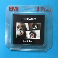 "THE BEATLES - Let It Be - 3"" Inch CD RARE - Original Packaging"