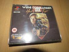 Wing Commander III 3 Playstation 1 PS1 PAL