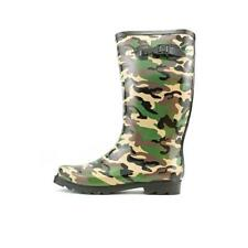 STYLE & CO Drizzle Womens PULL ON Camo Camoflouge RUBBER RAINBOOTS WELLIES SZ 10
