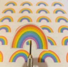 Rainbow Stickers laptop stickers envelope stickers planner stickers