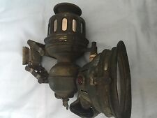Antique Bicycle Lamp Herm Reimann  Phanomen Early 1900s.