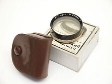Rolleiflex Proxar 2 with case and Box Push-On lens 28mm Stock No u4331