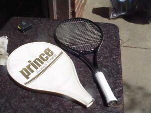 Prince Accuracy Oversize Tennis Racquet 4 1/4 Grip w Pro Ovterwrap