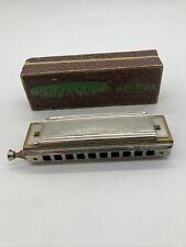 M. Hohner C Chromatic Harmonica Made In Germany Chromonica in Vintage Box