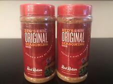 Red Robin All-Natural Original Seasoning 16oz, 2 Pack, LARGE BOTTLE