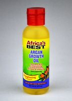 Africa's Best ARGAN GROWTH OIL Hair Strengthening Treatment, 4oz - NEW - FRESH