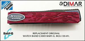 Replacement Original Watch Band Casio Baby-G BGX-130-4V
