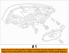 VOLVO OEM 11-13 S60-Headlight Head Light Headlamp 31383070
