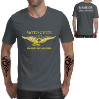 Biker Motorcycle Moto Guzzi Wings Retro  T-ShirtCafé Racer