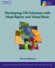 Developing GIS Solutions With MapObjects and Visual Basic (Mapobjects)-ExLibrary