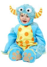 Mini Monster Boy or Girl Toddler Halloween Costume 2 Piece Set Sz L 18-24 mo NWT