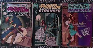 Phantom Stranger #9-11 1970 DC Neal Adams Covers Gerry Conway Bronze Age Horror
