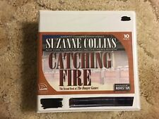 CATCHING FIRE CD AUDIOBOOK UNABRIDGED Suzanne Collins HUNGER GAMES Teen Thriller