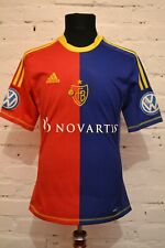FC BASEL 1893 FOOTBALL SHIRT 2012/2013 SOCCER JERSEY TRIKOT SWITZERLAND ADIDAS
