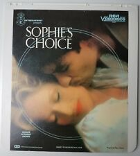 Sophie's Choice Disc 1 & 2 Vintage Collectible CED Video Disc Meryl Streep