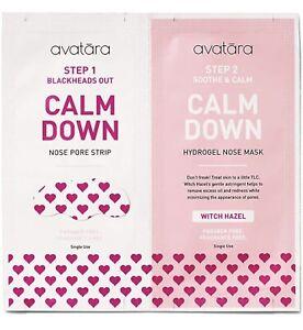 Avatara Calm Down 2-step Nose Mask Multi Pack