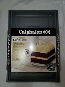 Calphalon Nonstick Bakeware Rectangular 9x13 Cake Pan w/ Cover D361