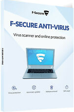 F-Secure Antivirus 2017 - 1 PC/1 Year License - (eDelivery) - Windows