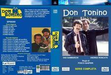 """COFANETTO 7 DVD  SERIE TVINEDITA COMPLETA """"DON TONINO""""  2  STAGIONI 14 EPISODI"""