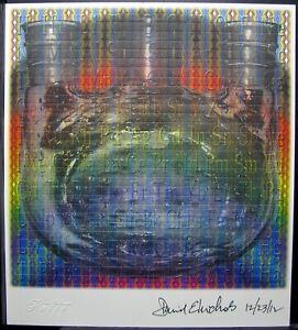 Blotter art Spectrum Synthesis Dr. David E Nichols signed Rafti
