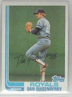 1982 Topps Baseball Kansas City Royals Team Set