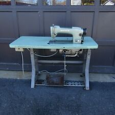 Consew Model 210 Industrial Sewing Machine Adjustable Table Runs Mp330