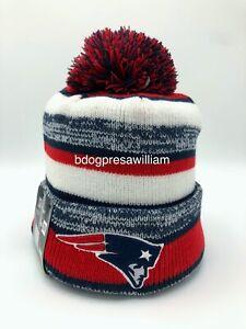 New England Patriots On Field New Era Knit Hat Beanie 2014-2015 Season