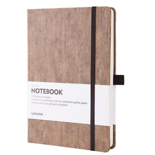 Ruled Notebook/Journal - Eco-Friendly Natural Cork Hardcover Writing Notebook &