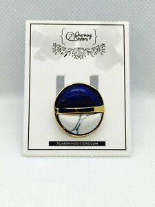 7 Charming Sisters Lapis Lazuli Cocktail Ring