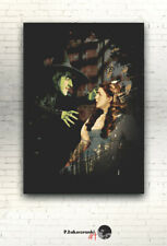 "THE WIZARD of OZ -- CANVAS 16""x12""  poster print photo Judy Garland Dorothy Miss"