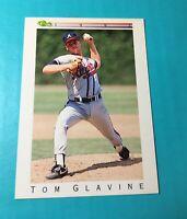 TOM GLAVINE 1992 CLASSIC BASEBALL ODDBALL CARD T38 BRAVES