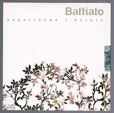 FRANCO BATTIATO ASPETTANDO L'ESTATE CD SINGOLO cds SINGLE PROMO SIGILLATO
