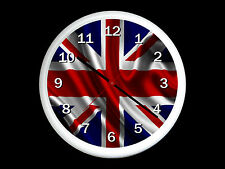 Union Jack Wall Clock Can be Personalised