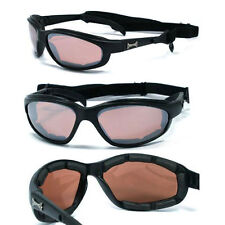 Choppers Motorcycle Riding Foam Padded Sunglasses Removabel Strap - AFM C18
