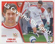 N°150 CARLOS # ESPANA FC.SEVILLA STICKER PANINI ESTE LIGA 2006