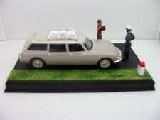 1/43 DIORAMA COCHE CITROEN ID BREAK Route Bleue France metal model car FRANCE