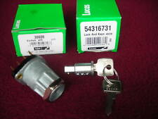 Lucas ignition switch with barrel and keys, Jaguar E-type, XKE, Mark 2, 3.8S