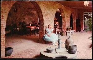 NATCHEZ MS Bontura Old Carriage House Patio Spanish Arches Vintage Postcard PC