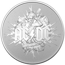 Australien - 1 Dollar 2021 - AC/DC - Frosted Finish -  1 Oz Silber ST