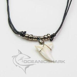 Requin 鲨鱼牙 collana con denti di squalo c145